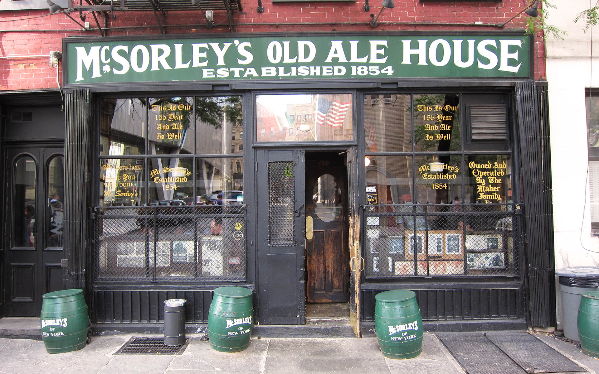 mcsorley's ale house east village new york nyc bars
